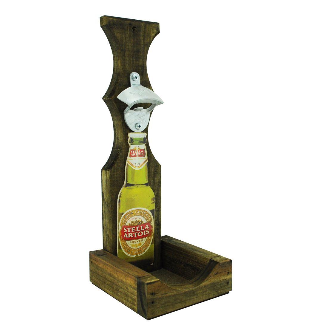 Abridor-Garrafa-Parede-Cerveja-Stella-Lazer-Churrasco-Madeira-Pinus