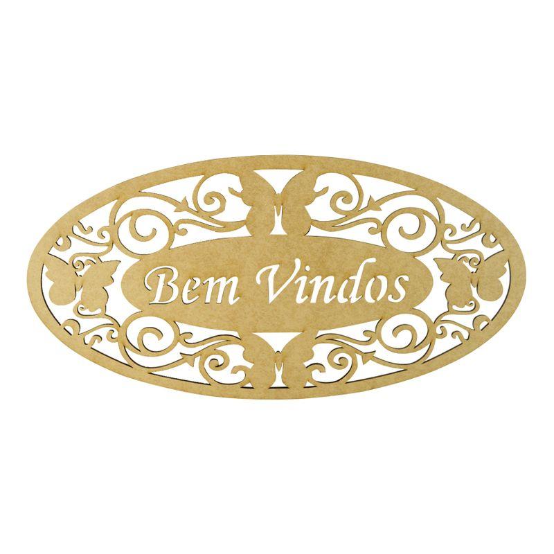 Aplique-Frase-Bem-Vindos-Decoracao-Mdf-Madeira-Cru