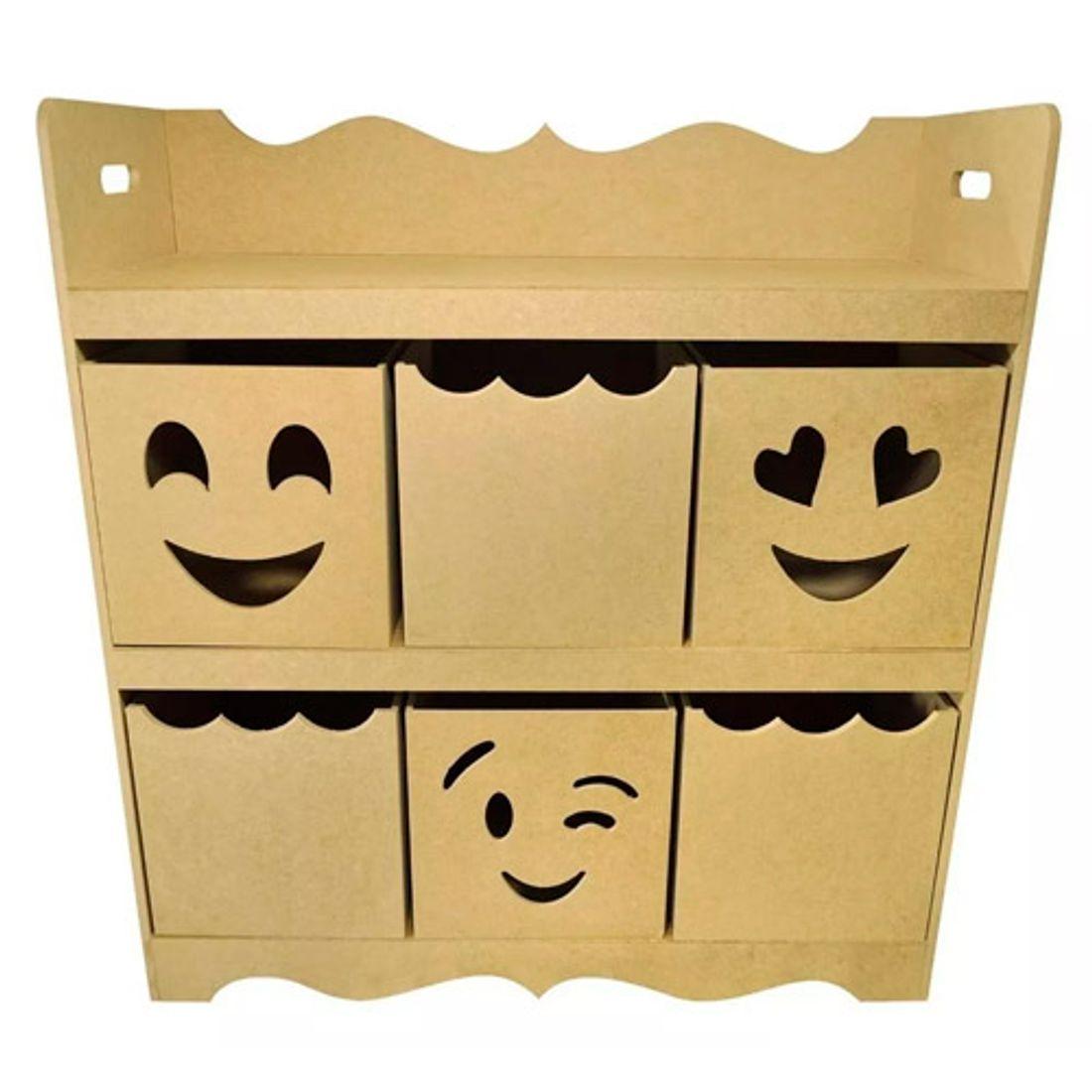 Organizador-C--6-Divisorias-Carinha-Emoji-Brinquedos-Mdf-9mm