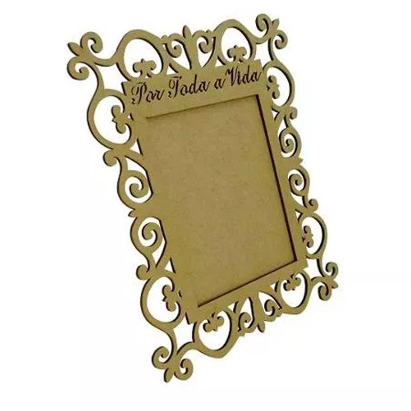 Porta-Retrato-Foto-Por-Toda-A-Vida-35x28-Mdf4mm-Madeira-Cru