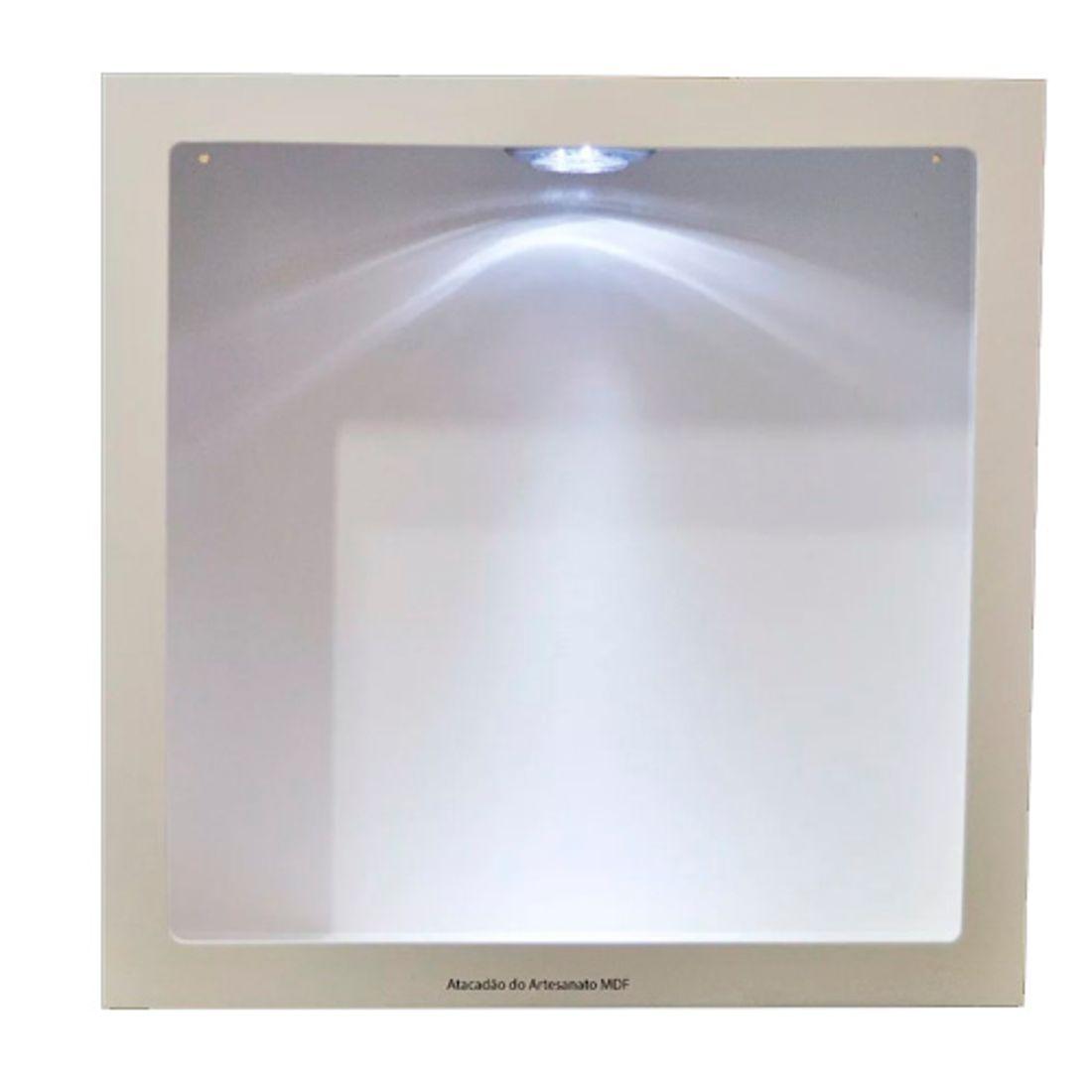 Trio-Nicho-Quadrado-Simples-com-LED-40x40x15-MDF-Pintado