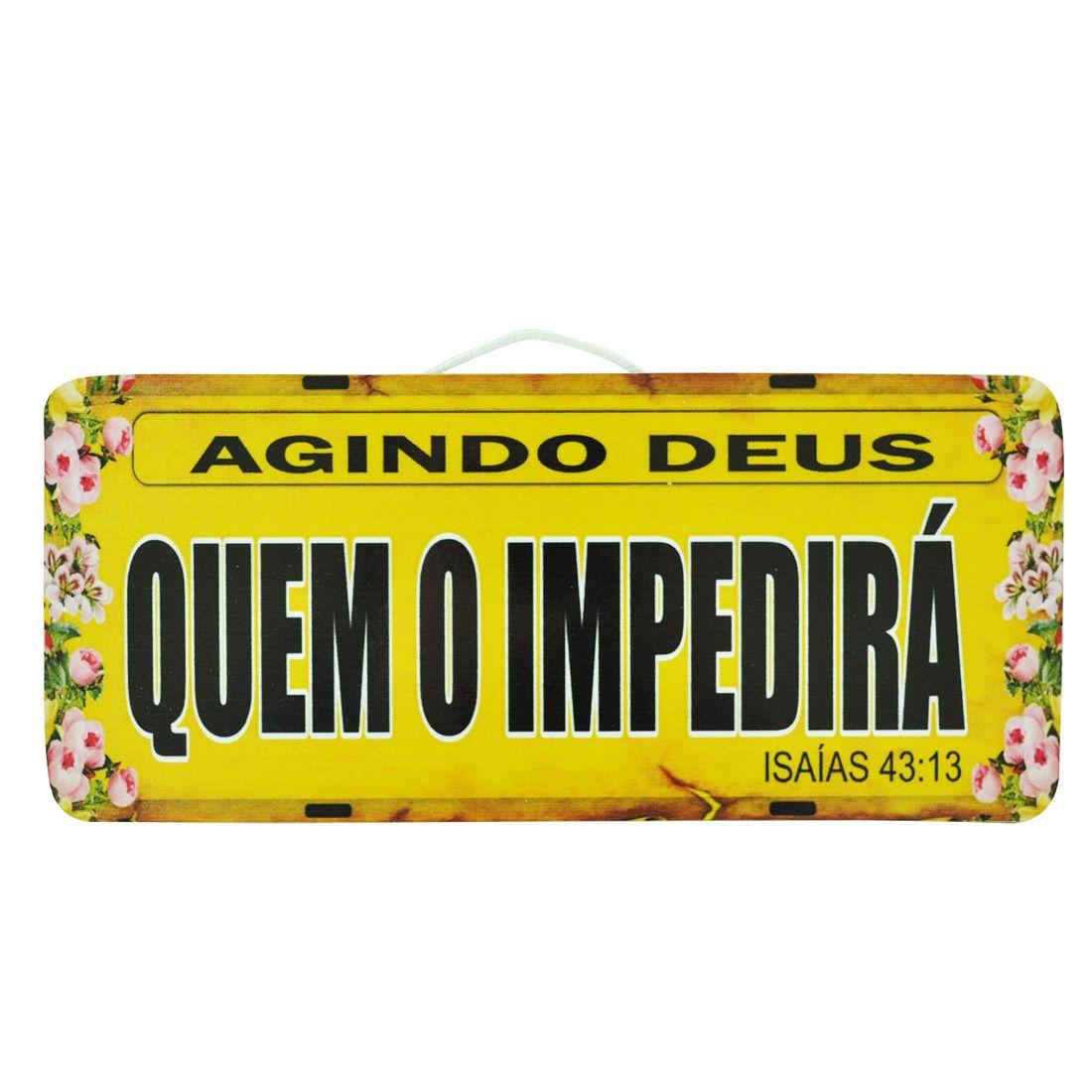 PLACA_CARRO_AGINDO_DEUS_QUEM_O_IMPEDIRA_MDF_FRENTE