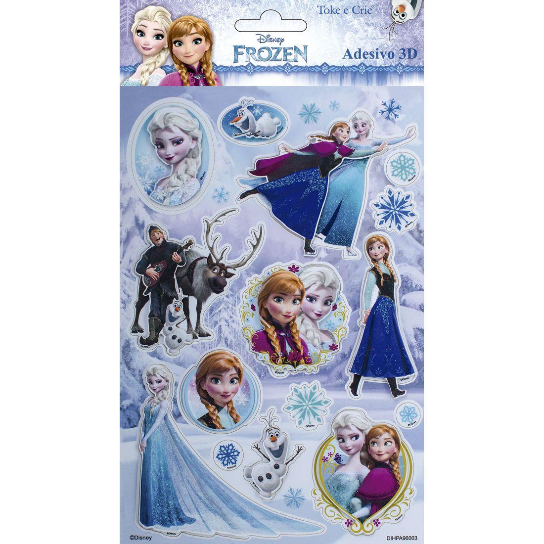 Adesivo-3D-14X21cm-Frozen-Add07-Toke-e-Crie