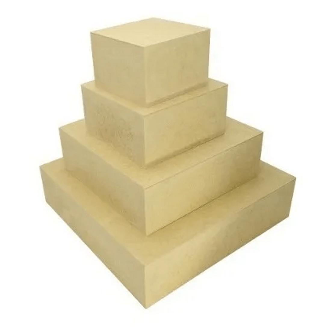 4-Caixa-Quadrada-Para-Bolo-Fake-Sem-Tampa-Mdf-3mm-Madeira