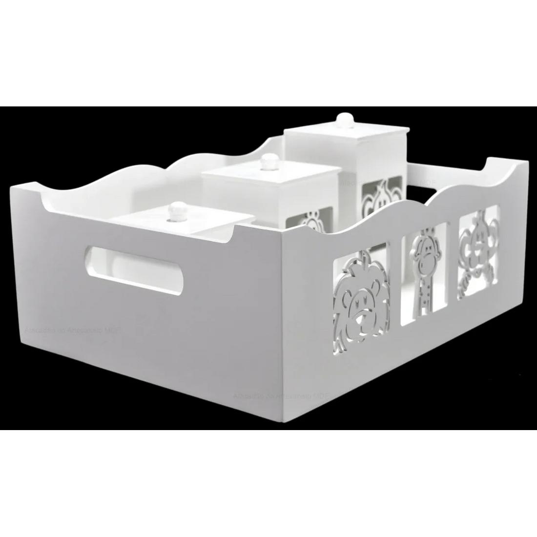 Kit-Bebe-Safari-Sem-Lixeira-7pc-MDF-Pintado