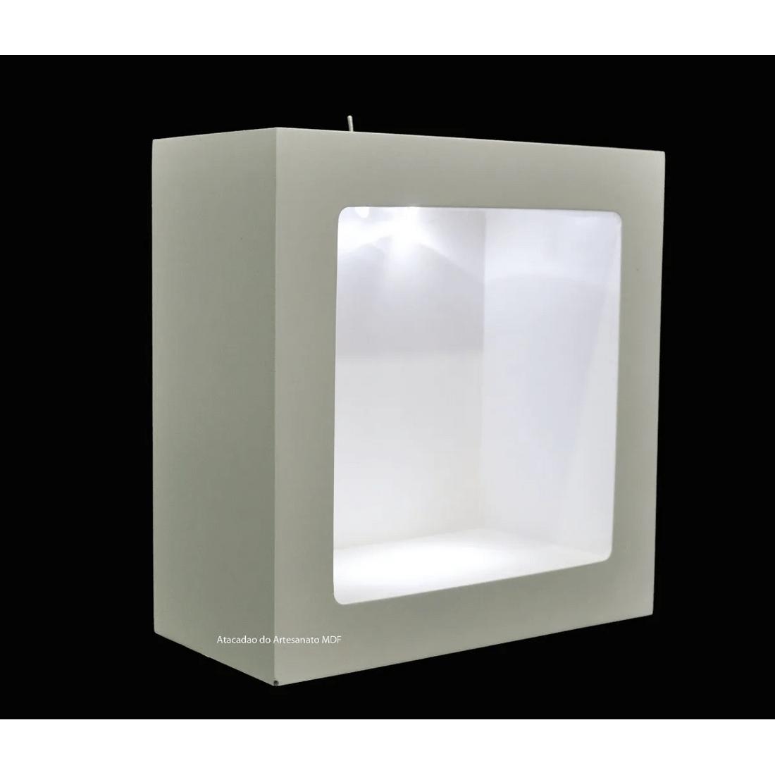 Nicho-Duplo-Quadrado-Pintado-Com-Led-24x24x10-Mdf-Madeira-2