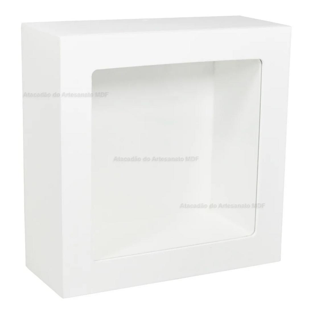 Nicho-Duplo-Quadrado-Pintado-Com-Vidro-Sem-Led-24x24x10-Mdf