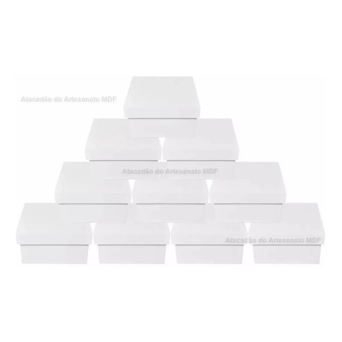 kIT-10-Caixa-Quadrada-Tampa-Sapato-8x8x5-Mdf-Madeira-Pintado