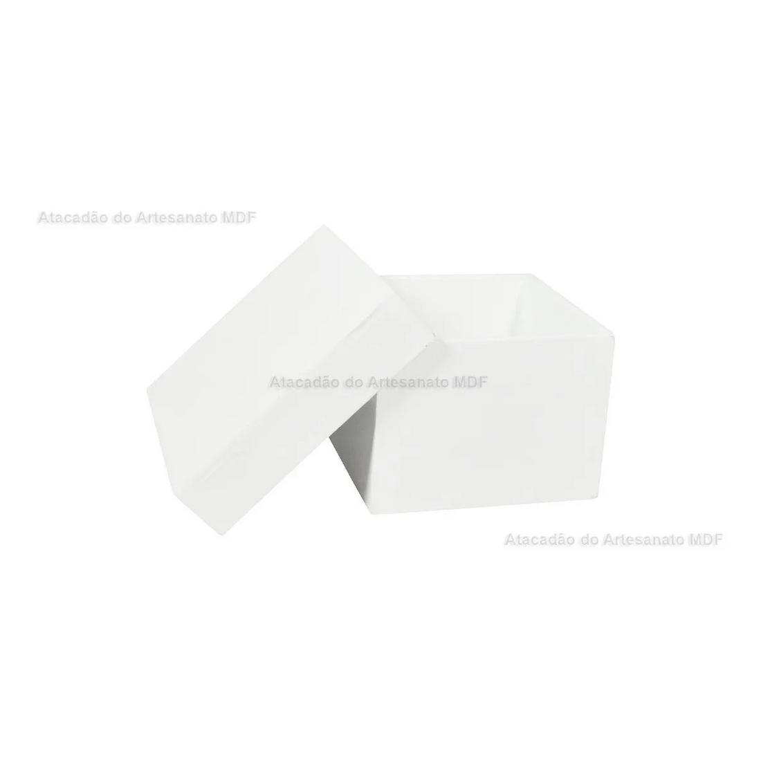 Kit-10-Caixa-Quadrada-Tampa-Sapato-7x7x5-Mdf-Madeira-Pintado