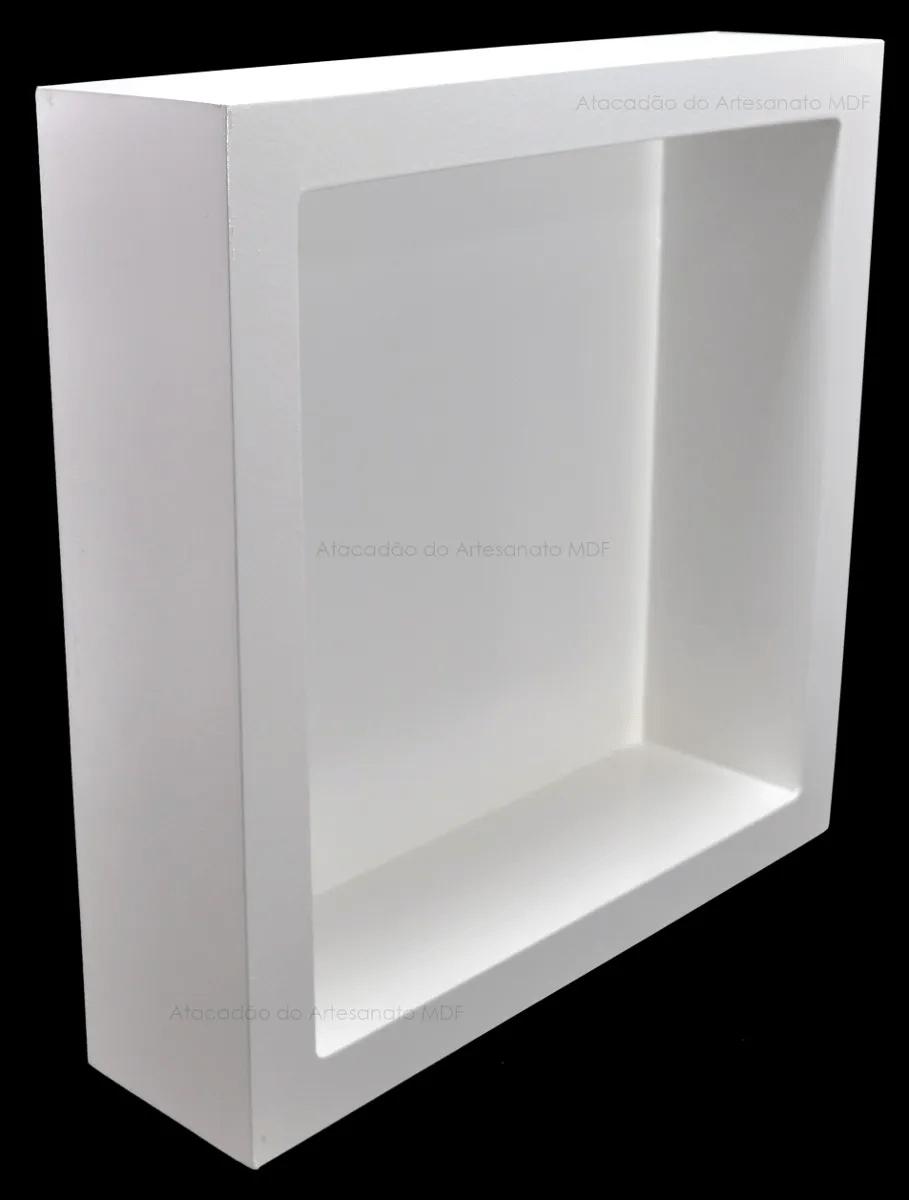 Trio-Nicho-Duplo-Quadrado-40x40x10-Mdf-Pintado-Madeira