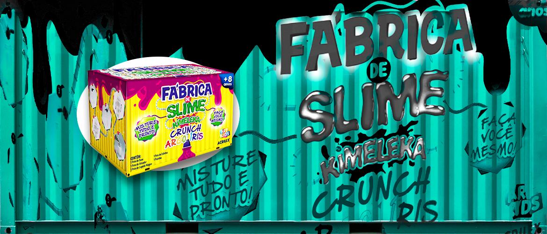 Banner fabrica de slime