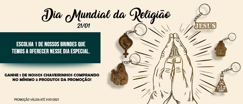 Banner Dia Mundia da Religião