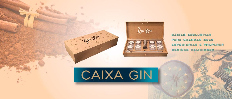 Banner Caixa Gin