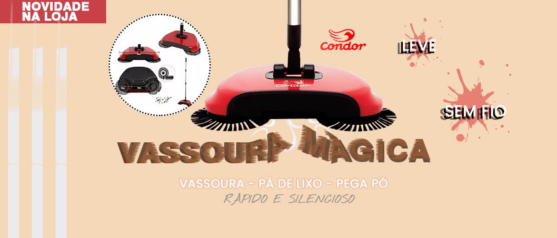 Banner vassoura mágica